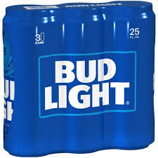 how much is a 36 pack of bud light bud light beer 3 pack 25 fl oz walmart com