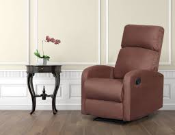 sleek recliner microfiber recliners you u0027ll love wayfair