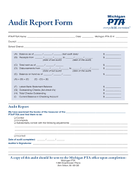 Excel Resume Template Audit Report 6 Free Templates In Pdf Word Excel Download Form