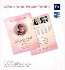funeral program sle obit template 21 word psd format free premium