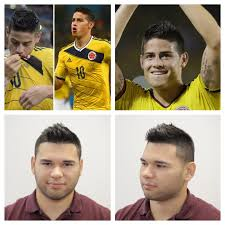 soccer haircut steps james rodriguez haircut tutorial world cup 2014 celebs