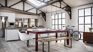 cuisine loft decoration cuisine style loft