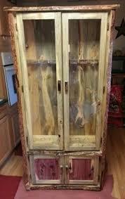 custom reclaimed lumber gun cabinet by tom u0027s custom woodworking