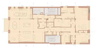 golden rectangle house plans arts floor plan foster dale architects