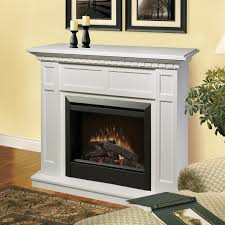 Electric Fireplace With Mantel Dimplex Caprice 48 Inch Electric Fireplace Mantel Standard Logs