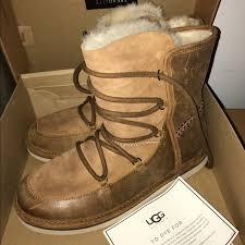ugg shoes australia brown boots poshmark ugg shoes nwt australia lodge boots poshmark