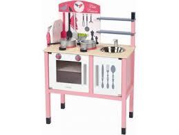 cuisine en bois janod cuisinière en bois janod cuisine en bois avec accessoires achat