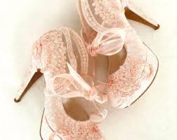 blush wedding shoes wedding etsy