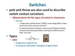 slot principles i switches buttons switches overview used in many