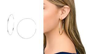 large hoop earrings large hoop earrings bloomingdale s