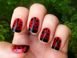 42 ladybug nail designs nail design ideaz