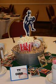 tucker baseball centerpiece centerpieces and baseball party
