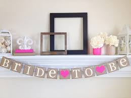 Bridal Shower Decor by Bride To Be Banner Bridal Shower Decorations Bridal Shower
