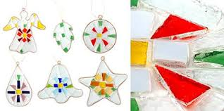 recycled glass ornaments treehugger
