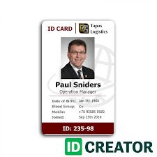 professional id card designs