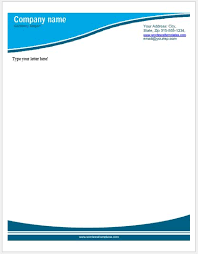 business letterhead templates for ms word word u0026 excel templates
