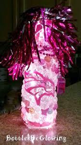bottle l diy show pink denver broncos bottle how to