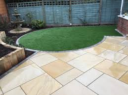 Snap Together Slate Patio Tiles by Ethan Mason Dune Sandstone Paving Slabs Patio Slabs Natural