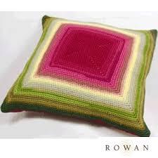 free crochet patterns for home decor glow crochet cushion crocheted home decor pillow by rowan free
