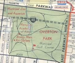 Shelby Farms Map Overton Park Exwy Crème De Memph