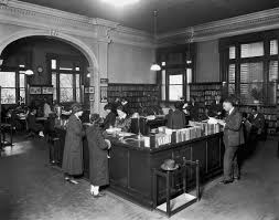 Library Reference Desk Americanwiki Segregated Libraries