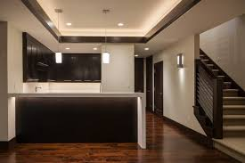 kitchen and cabinets by design sleek modern basement kitchen in draper utah home built by