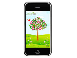 a real tree iphone app inhabitat green design innovation