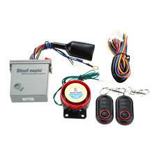 original steelmate 986e 1 way motorcycle alarm system remote