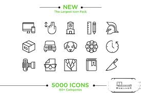 android icon size 5000 ios android icons mobiliner icons creative market