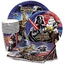 wars party supplies wars birthday party supplies pack for 8 guests