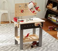 personalized woodwork bench pottery barn