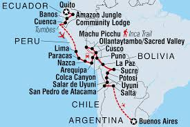 Columbia Map South America by Bolivia Tours U0026 Travel Intrepid Travel Us