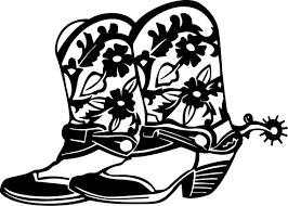 cowboy boots and hats coloring pages bestofcoloring com