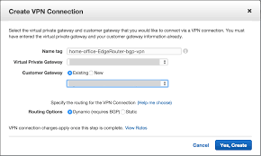Home Vpn by Aws Vpc Ipsec Site To Site Vpn Using A Ubiquiti Edgemax Edgerouter