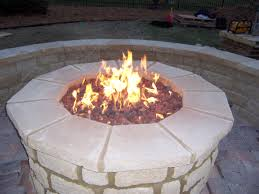 outdoor fire pit gas crafts home