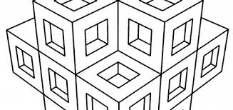 41 awesome free geometric coloring pages adults