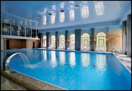 pool houses with swimming pools inside