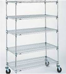 Shelves With Wheels by Completekitchensolution