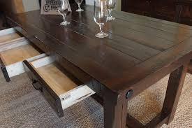 barn door dining table provençal dining table liken woodworks