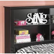 Full Bookcase Furnituremaxx Jaidyn Full Bookcase Storage Bed Sears Marketplace