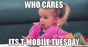 T Mobile Meme - who cares its t mobile tuesday meme good luck charlie 51027