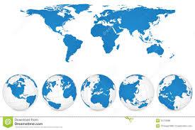 world map globe image world globe maps stock vector illustration of globes 14858340