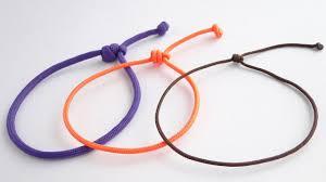 bracelet knots images How to make a simple single strand friendship sliding knot jpg