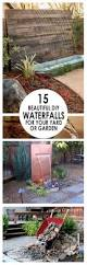 Patio Fountains Diy by 15 Beautiful Diy Waterfalls For Your Yard Or Garden 1