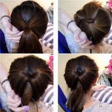 hair bun clip 6 magic bun hair bowknot twist ponytail maker styling braid tool
