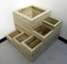 Concrete Planter Boxes by Best 20 Wooden Planters Ideas On Pinterest Wooden Planter Boxes