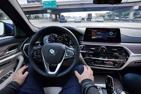 mobility cars bmw bmw shows hologram interior self driving 5 series at ces