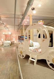girls princess carriage bed bedroom lavish princess carriage bed for kids bedroom design with