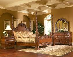 Ashley Bedroom Furniture Set by King Charles Bedroom Furniture Set Collection With Poster Bed