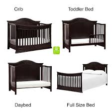 Crib Convertible Toddler Bed by Davinci Meadow 4 In 1 Convertible Crib With Toddler Bed Conversion
